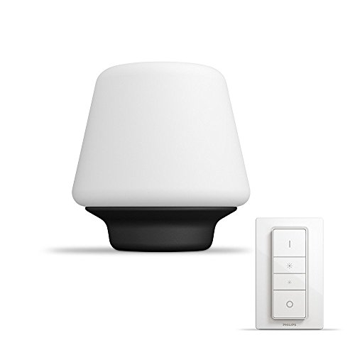 Philips myLiving Wellness - Lámpara de mesa conectada, E27, consume 9.5 W,...