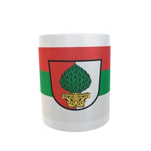 U24 Tasse Kaffeebecher Mug Cup Flagge Augsburg