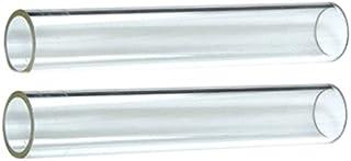 Hiland  SGT-GLASS2 2 Piece Quartz Glass Tube Replacement fits 584736, 639564, PH08-SB, HLDS01-GTHG, HLDS01-GTSS, HLDS01-GTPC