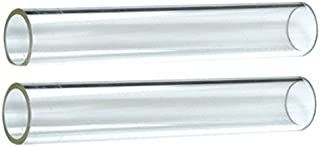 Hiland  SGT-GLASS2 2 Piece Quartz Glass Tube Replacement fits 584736, 639564, PH08-SB, HLDS01-GTHG, HLDS01-GTSS, HLDS01-GTPC