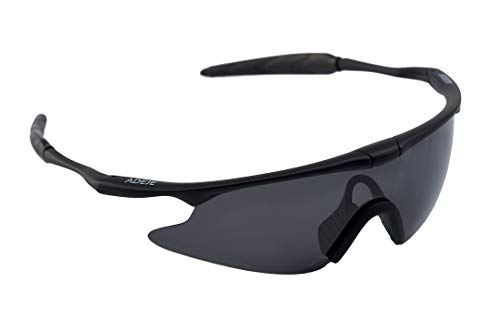 sunglasses restorer Gafas de Ciclismo con Cristal Gris Polarizado, Modelo Adeje