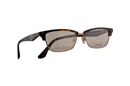 Prada VPR 56R Brillen 53-16-140 Havana Braun Mit Demonstrationsgläsern 2AU1O1 PR 56RV PR56RV VPR56R