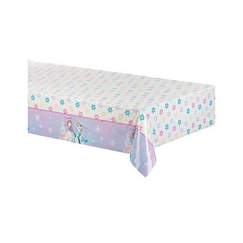 Procos- Tovaglia plastica Disney Frozen Sparkle (180x120 cm), 89100