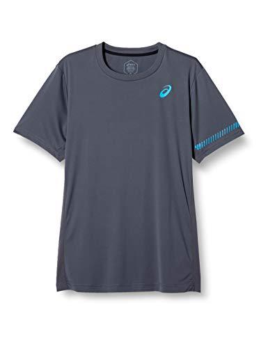 ASICS Camiseta Padel M SS Gris
