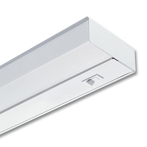 Lithonia Lighting UC 21E 120 SWR M6 1-Light 13W T5 Fluorescent Under Cabinet Light, 21-Inch, White
