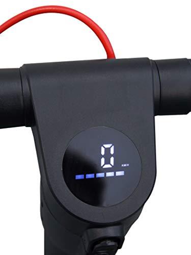 Six Degrees E-Scooter Velo E7 - mit Straßenzulassung /ABE, PANASONIC Lithium-Ionen-Akku, 20 km/h, 8,5 Zoll Luftreifen, schwarz - 5