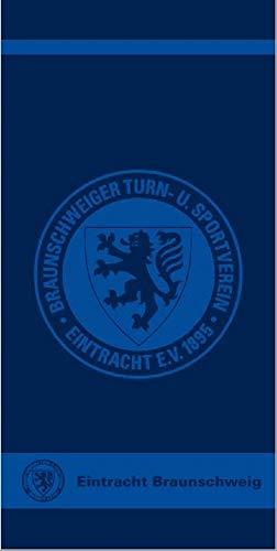 Eintracht Braunschweig Handtuch, Duschtuch, Strandtuch, Badetuch Logo (70 x 140 cm)