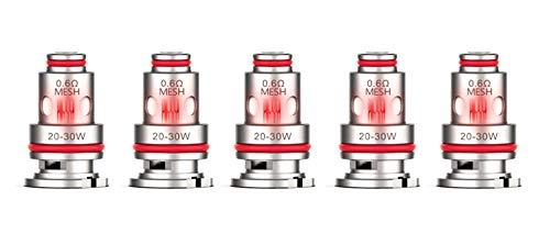 Vaporesso Target PM80 GTX Coils – 5er-Pack [0,6 Ohm, Mesh]