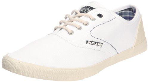 JACK & JONES JJ Spider, Herren Sneaker, Weiß (Blanc (Option white)), 44 EU