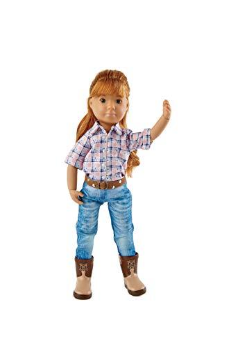 Käthe Kruse K0126870 K0126870-Chloe Kruselings die Reiterin, Puppe 23cm