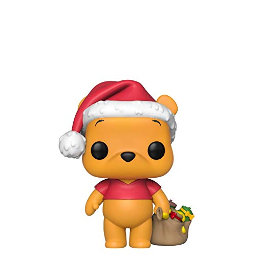 Funko - Pop! Disney Holiday - Winnie The Pooh Figura De Vinil, Multicolor (43328)