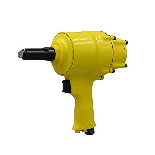 QPLKL Herramienta aérea De Mano Remachadora neumática de Doble Cilindro, Herramienta de Remache Core, Remachadora de Grado Industrial