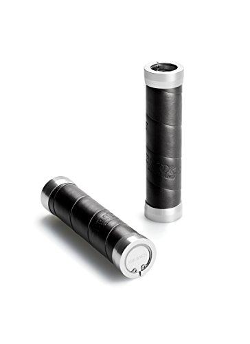 Brooks England Ltd Lenker vorbauten Griffe 130 + 130 mm, schwarz, BLG4A07202