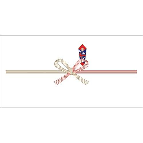 ササガワ OA対応のし紙 熨斗紙 豆判7号 祝 京 2-17 1セット 1000枚:100枚×10冊