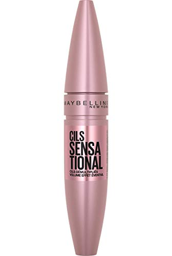 Maybelline New York - Mascara Volume - Cil Sensational – Couleur : Very Black, 9,5 ml