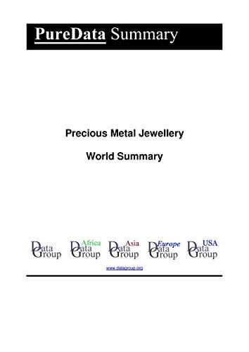 Precious Metal Jewellery World Summary: Market Values & Financials by Country (PureData World Summary Book 3734) (English Edition)