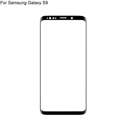 zNLIgHT Interne Telefoon Onderdelen | UV Lijm Voorste Glas Scherm Vervanging voor Samsung Galaxy S9 G960/S9 Plus G965, for Samsung Galaxy S9, Onecolor