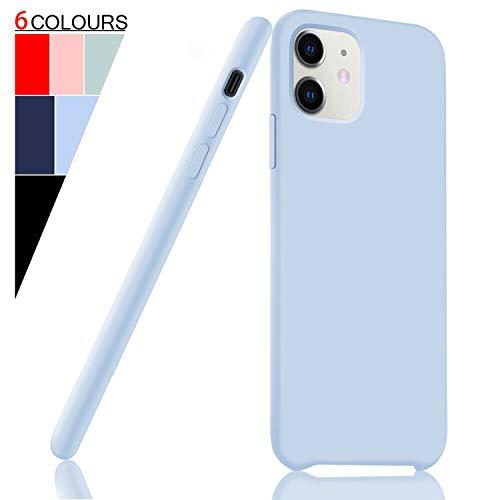 Fuleadture voor iPhone 11 hoes, [ondersteunt draadloze oplader] originele vloeibare siliconen beschermhoes voor Apple iPhone 11 6,1