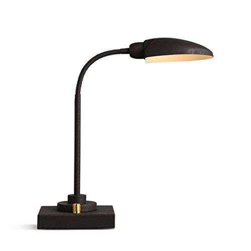 JPVGIA Lámpara de escritorio del LED, lámpara Tsble ajustable ajustable de Tsble del cuello de cisne de la protección del ojo para la lectura, trabajando, estudio, hogar, oficina