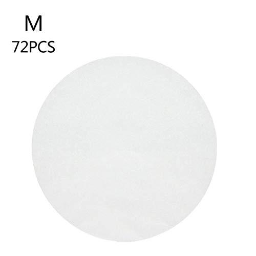 HQWL 11 cm / 16 cm / 20 cm / 24 cm Rundes Pergamentpapier Antihaft-Doppelschicht-Silikon-Backpapier Kuchen Gebäckpapier Grillmatte Küchenwerkzeug, 16 cm 40 STÜCK