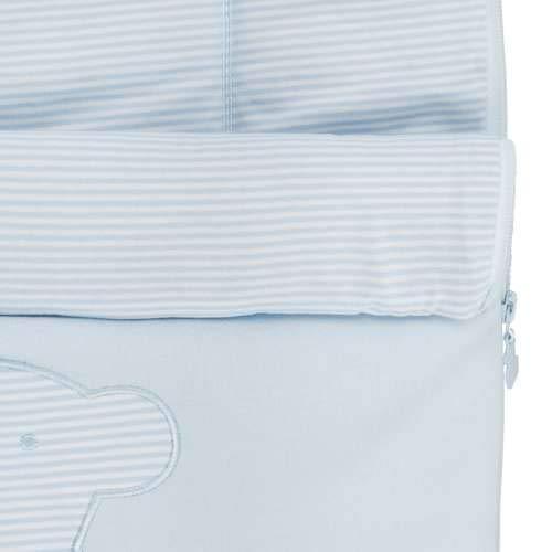 TOUS BABY - Saco cuco para tu Bebé. Color celeste. (0 a 36 meses)