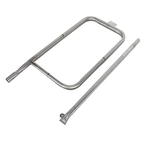 Stanbroil Stainless Steel Grill Burner Tube for Weber Q300 Q320 Q3000 Q3100 Q3200 Series Gas Grill, Replacement Part for Weber 65032, 13122, 60036, 80385
