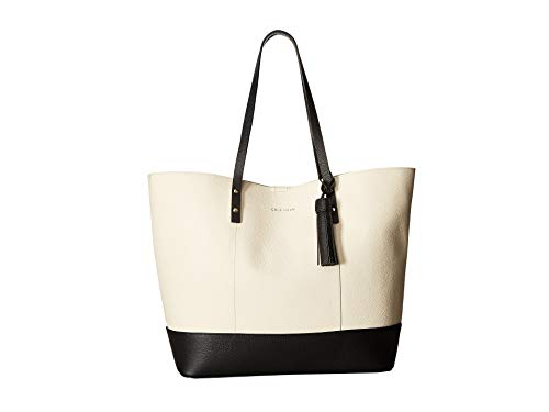 Cole Haan Bayleen Tote Ivory/Black One Size