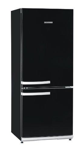 SEVERIN Kühl-/Gefrierkombination, 173 L/54 L, Energieeffizienzklasse A++, KS 9775, schwarz