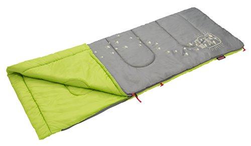 コールマン(Coleman) 寝袋 グローナイトキッズ C7 使用可能温度7度 封筒型 ライム 2000022259
