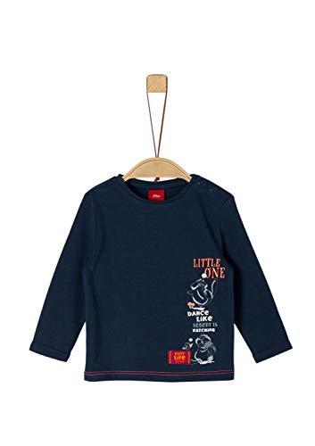 s.Oliver Baby-Jungen 65.909.31.8914 T-Shirt, Blau (Dark Blue 5952), (Herstellergröße: 80)