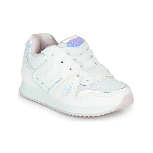 Hummel Marathona Shine Jr Zapatillas Moda Chicas Blanco Zapatillas Bajas Shoes