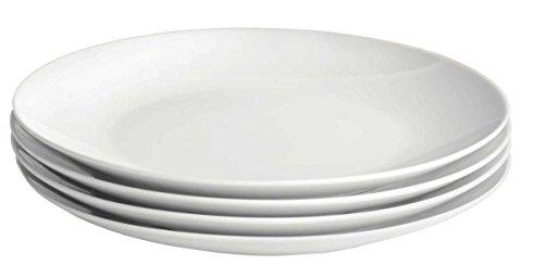 4 Speiseteller Teller Porzellan Essteller