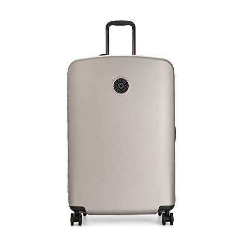 Kipling Curiosity Large Metallic 4 Wheeled Rolling Luggage Metallic Glow