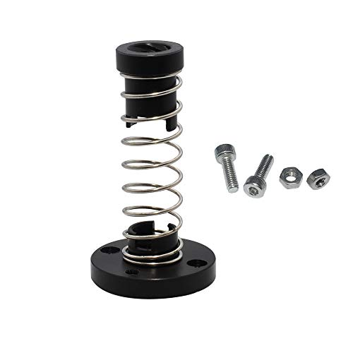Z Axis T8 POM Anti Backlash Nut 8mm Lead Acme Threaded Rod Elimination Gap Nuts Spring Loaded Nut for Prusa I3 MK2 MK2S MK3 MK3S 3D Printer Trapezoid Motor Screw