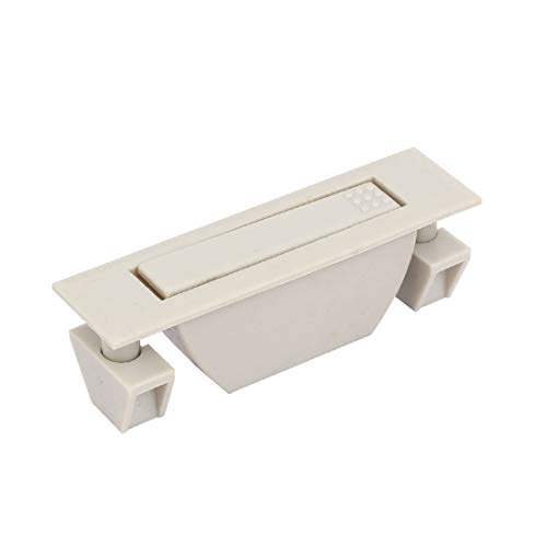 New Lon0167 Puerta del Destacados cajón del gabinete, eficacia confiable puerta oculta empotrada PP, tirador de anillo, gris w Tornillos(id:0dd 8f 5f 905)