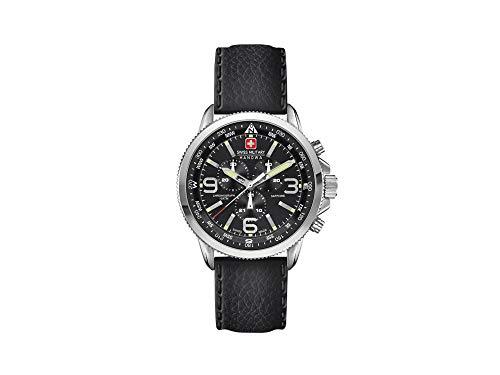 Swiss Military Hanowa Avio Arrow Chrono Quartz Uhr, Schwarz, Datum, Chronograph