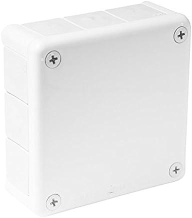 blanc /à vis bo/îtier de jonction en caoutchouc Viplast/3740/051-01 Bo/îtier de d/érivation pour pi/èce humide 110/x/110/x/35/m