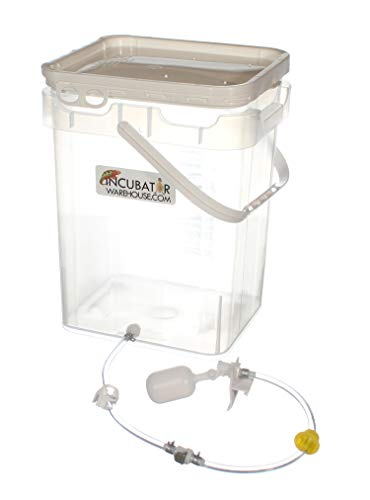 Incubator Warehouse Clear Automatic Humidity & Water Reserve System for GQF Cabinet Incubators (Replaces 3030)