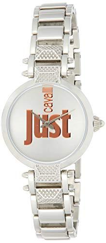 Just Cavalli Just Mio Uhr JC1L076M0075 - Damen Edelstahl Quarz Analog
