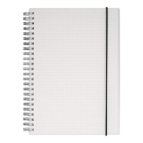 (5% OFF) Hardcover Graph Ruled Spiral Notebook $7.12 Deal