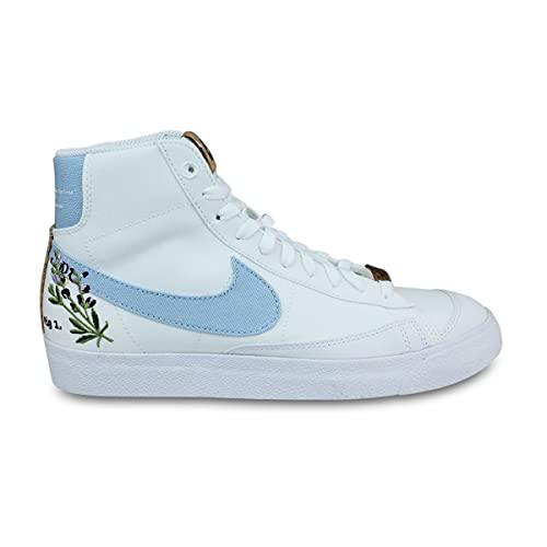 Nike Women Blazer Mid'77 Se Catechu Dc9265-100 - Zapatillas deportivas para mujer, color blanco, (blanco), 37.5 EU