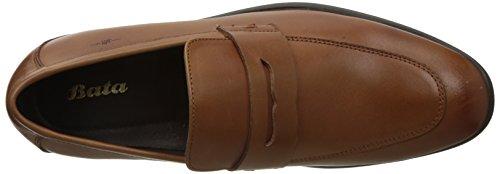 BATA Men's Targus Slip On Leather Formal Shoes