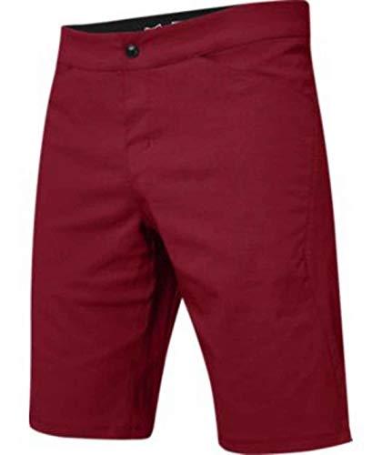Fox Racing Ranger Lite - Pantalón Corto Corto para Hombre, Hombre, Ranger Lite Corto, Chili, 46