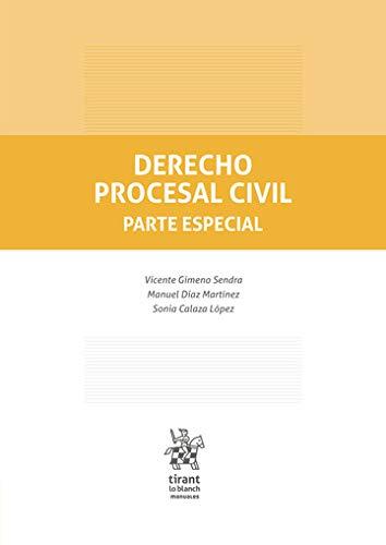 Derecho Procesal Civil. Parte Especial (Manuales de Derecho Procesal)