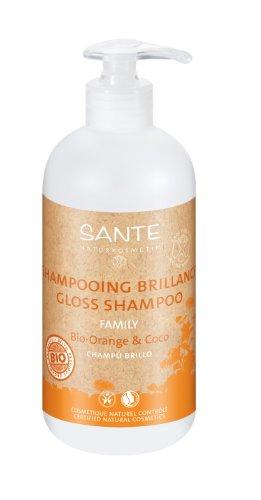 Sante Gloss Shampoo Organic, 950 ml, Orange und Kokosnuss