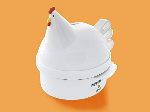 Maverick SEC-2 Henrietta Hen Electric Rapid Egg Cooker Poacher for Soft, Hard Boiled or Poached Eggs, Up to 7 Eggs