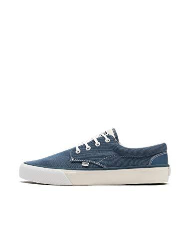 Djinns Herren Sneakers Nice Stripe Jersey blau 41