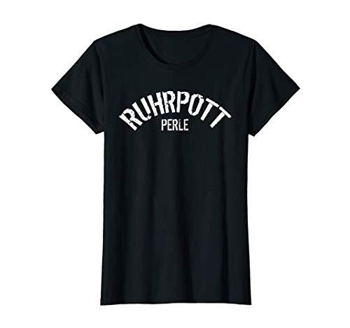 Damen Ruhrpott Perle T-Shirt