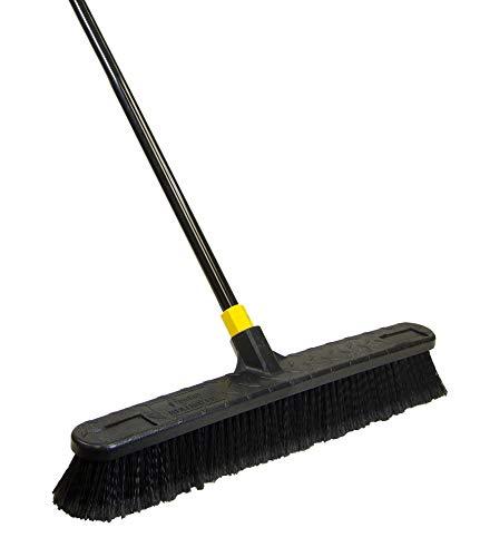 Quickie Quckie Push Broom, 1 Pack, Black - 594
