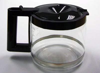 デロンギ コーヒーメーカー用ガラスジャグ BCO410J用